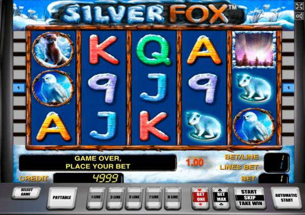 Игровой автомат Silver Fox (Серебряный Лис)
