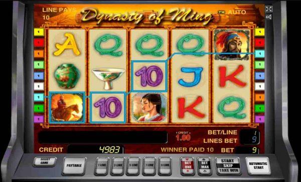 Игровой автомат Ming Dynasty (Династия Минг)